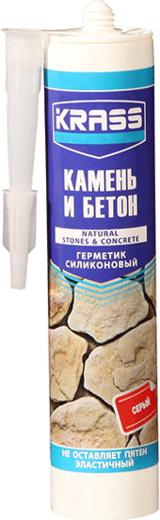 Krass Камень и Бетон герметик для бетона и натурального камня эластичный (300 мл) бесцветный