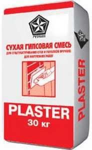 Русеан Plaster сухая гипсовая смесь (30 кг)