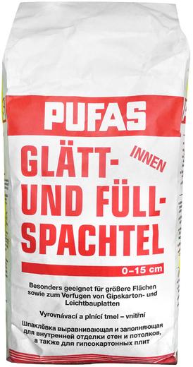 Пуфас Glatt- und Full Spachtel шпаклевка выравнивающая и заполняющая (20 кг)