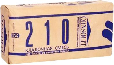 Консолит 210 кладочная смесь (25 кг)