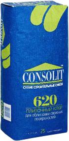 Консолит 620 клей для плитки и камня