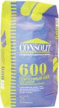 Консолит 600 клей для плитки и камня