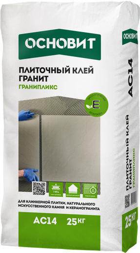 Гранипликс ac 14 гранит для натурального камня керамогранита и керамической плитки 25 кг