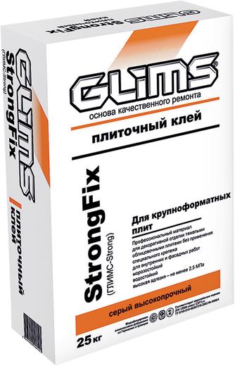 Глимс StrongFix клей для керамогранита высокопрочный водостойкий