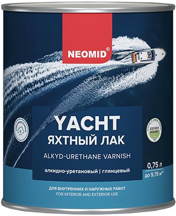 Лак Неомид Yacht яхтный алкидно-уретановый 750 мл глянцевый