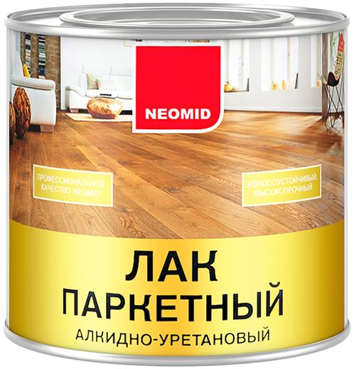 Неомид лак паркетный алкидно-уретановый (2.5 л) глянцевый
