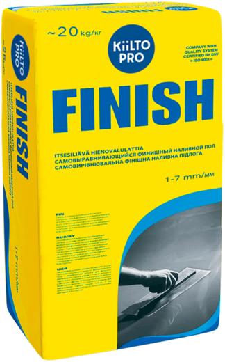 Kiilto Finish самовыравнивающийся финишный наливной пол (20 кг)