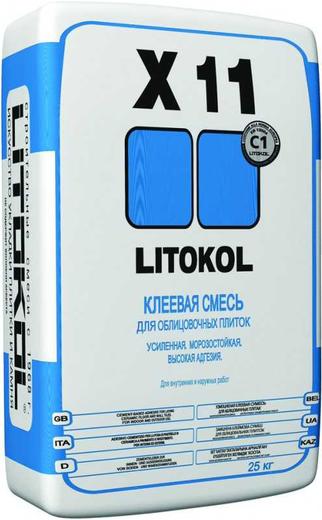 Литокол X 11 клеевая смесь для облицовочных плиток