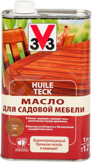 V33 Huile Teck масло для садовой мебели