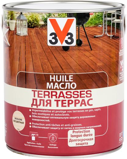 V33 Huile Terrasses масло для террас