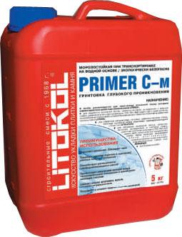 Литокол Primer C-m грунтовка глубокого проникновения (5 кг)