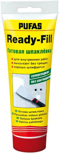 Шпаклевка Пуфас Ready-fill готовая супергладкая без растворителя 400 г