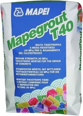 Mapei Mapegrout T40 ремонтный состав (25 кг)