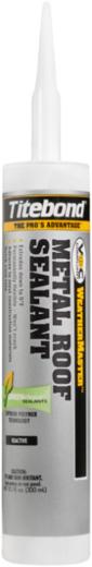 Titebond Weathermaster Metal Roof Sealant герметик на основе MS-полимера (300 мл) красный №61441