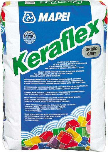 Клей Mapei Keraflex для плитки 25 кг белый