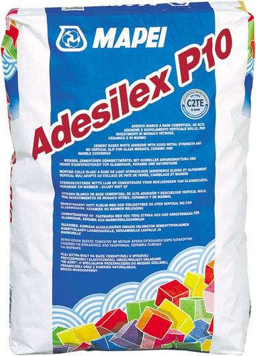 Mapei Adesilex P10 клей для плитки (25 кг)