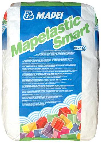 Mapei Mapelastic Smart двухкомпонентный высокоэластичный состав на цементной основе для гидроизоляции компонент А