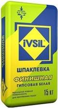 Ивсил Финишная шпаклевка гипсовая белая (15 кг)
