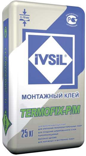 Termofix-p/m монтажный для минераловатных плит 25 кг