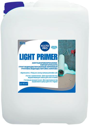 Kiilto Light Primer грунт воднодисперсионный акриловый