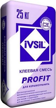 Ивсил Profit плиточный клей для керамогранита (25 кг)