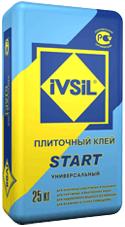 Клей Ивсил Start плиточный универсальный 25 кг