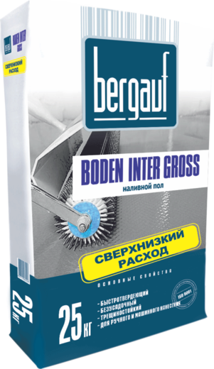 Bergauf Boden Inter Gross наливной пол