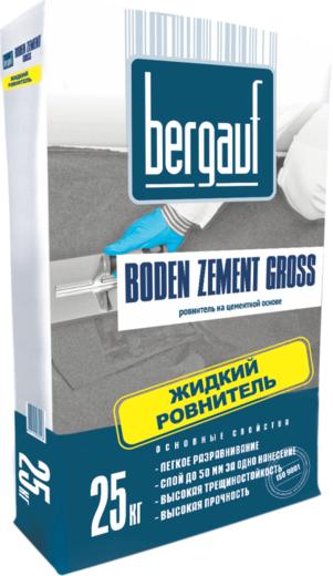 Bergauf Boden Zement Gross жидкий ровнитель на цементной основе