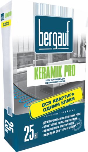 Keramik pro усиленный для керамической плитки 25 кг
