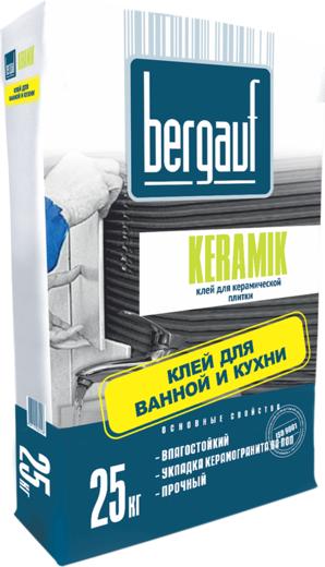 Bergauf Keramik клей для керамической плитки для ванной и кухни (25 кг)