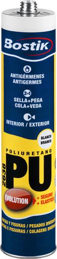 Bostik PU 2638 клей-герметик полиуретановый (600 мл) белый