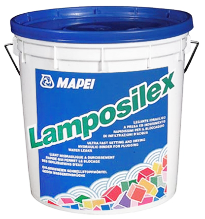 Mapei Lamposilex гидропломба (5 кг) серое