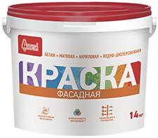 Старатели краска фасадная (14 кг) белая