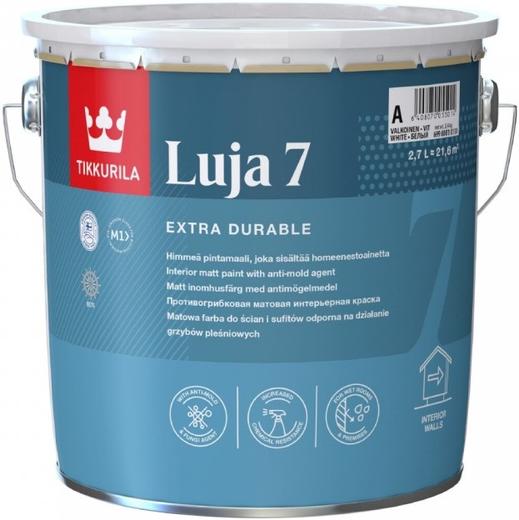 Тиккурила Луя 7 экстремально стойкая краска покрывная матовая