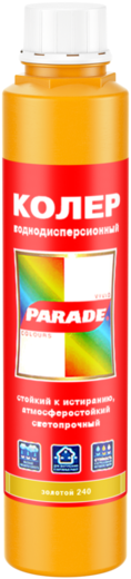Parade колер водно-дисперсионный (250 мл) №237 кофе с молоком