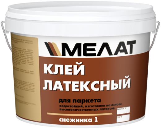 Мелат Снежинка-1 клей латексный для паркета водостойкий (30 кг)