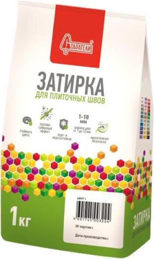 Старатели затирка для плиточных швов (1 кг) №028 ярко-зеленая
