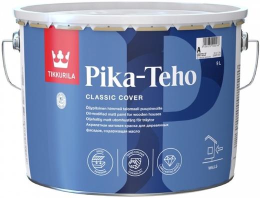 Тиккурила Пика-Техо содержащая масло акрилатная краска для деревянных фасадов матовая