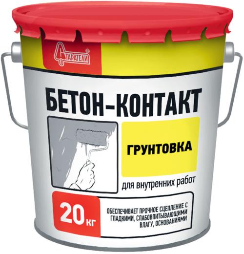 Старатели Бетон-контакт грунтовка для внутренних работ (20 кг)
