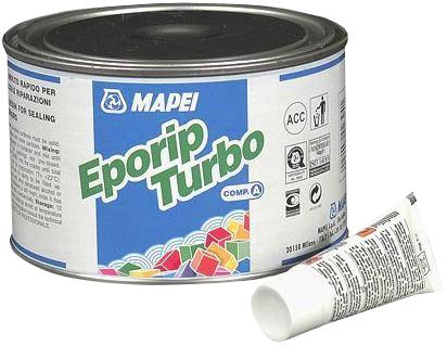 Mapei Eporip Turbo ремонтный состав (508 г) серая