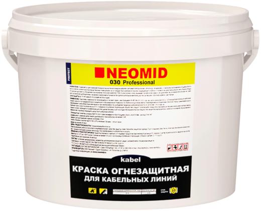 Неомид 030 Kabel огнезащитная краска для кабельных линий (25 кг) белая