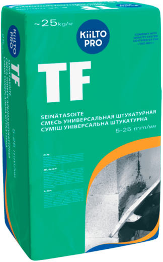 Kiilto TF смесь универсальная штукатурная
