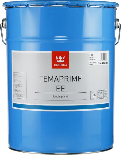 Тиккурила Темапрайм ЕЕ быстровысыхающая антикоррозионная специальная грунтовка (20 л) серая