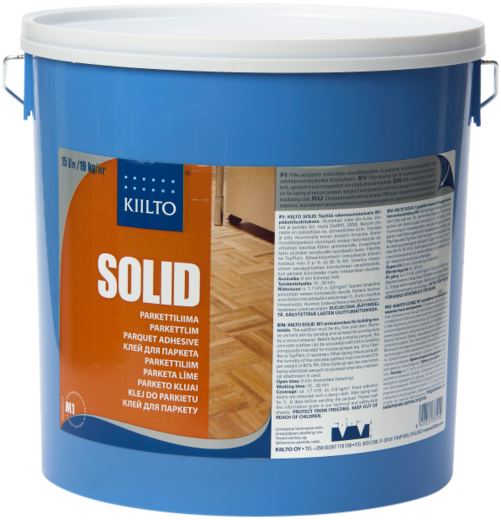 Kiilto Solid клей для паркета (15 л)
