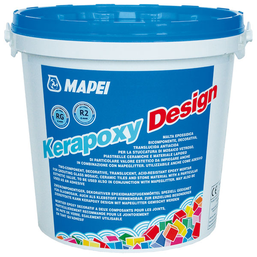 Mapei Kerapoxy Design затирка швов эпоксидная