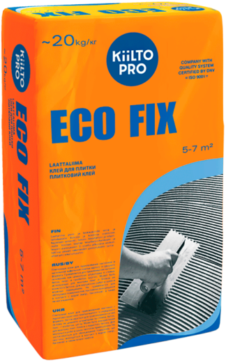 Eco fix для плитки 20 кг