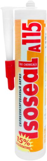 Герметик Iso Chemicals Isoseal A115 силиконизированный акрил силиконизированный 280 мл светлое дерево
