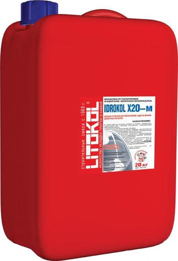Idrokol x20-m латексная для увеличения адгезии цементных растворов 10 кг