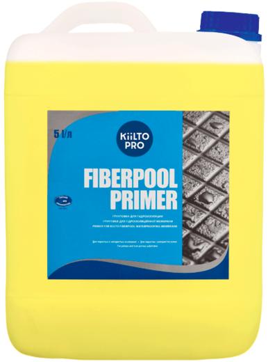 Kiilto Fiberpool Primer грунтовка для гидроизоляции (5 л)