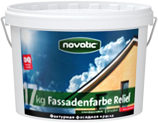 Feidal Novatic Fassadenfarbe Relief фактурная фасадная декоративная краска (8 кг) белая